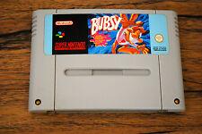 Jeu BUBSY pour Super Nintendo SNES version PAL