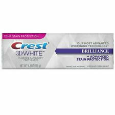 Crest 3D White BRILLIANCE Toothpaste, Vibrant Peppermint 4.1 oz (8/21 Exp) NEW!