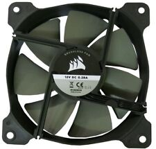 Corsair 12CM 120mm Black Grey 7 Fin Fan Cooler Case PC Computer Cooling 3 Pin