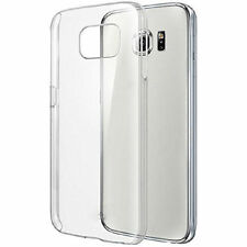 Transparent Silicone/Gel/Rubber Fitted Cases for Samsung Galaxy S7