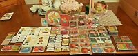 The Simpsons-Lot of 1980's/1990 Mixed Items-Cards, Postcards, Memo Pad, Captions