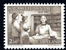 Greenland 1980 Public Libraries Mint Unhinged