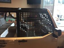New Item (2) Black WINDOW NETS.For Axial Jeep Rubicon .Trail Rigs . SCX10