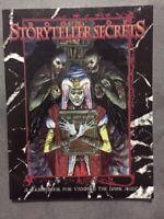 Book of Storyteller Secrets (Vampire - The Dark Ages) NEW White Wolf #2802