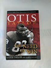 SIGNED&INSCRIBED- Otis Taylor:The Need to Win by Otis Taylor w/ Mark Stallard LN