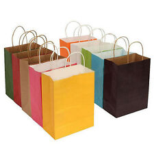 Paper Packaging Party Gift Bags Candy Color Decorative Wrapping Supplies Bags