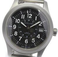 HAMILTON khaki mechanical black Dial Hand Winding Men's Watch_602067