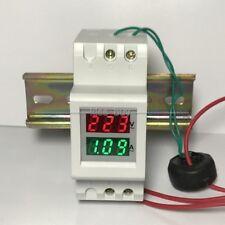 AC 220v-450v 100A LED Digital Voltmeter Spannungsanzeige Amperemeter Strommesser