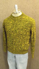 Very COOL Vtg Kmart Tweed Crew Neck Sweater sz Med Variegated Acrylic Knit