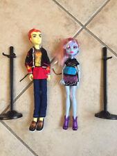 Monster High Coffret 2 poupées ABbey Bominable et Heath Burns Excellent état
