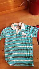 NEU Polo Shirt Lemmi 170 176  S L Poloshirt türkis blau Vintage NP 36 EUR