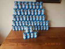 1970s RC COLA BASEBALL (FOOTBALL) NFL  MLB CANS LOT OF 58 PETE ROSE ETC....