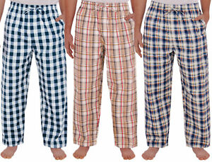 Alexander Del Rossa Mens Satin Pajama Pants Long Pj Bottoms