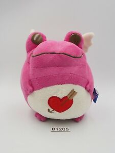 "Keroppi Style Frog B1205 Pink Bandai Banpresto 2004 Plush 4.5"" Toy Doll Japan"