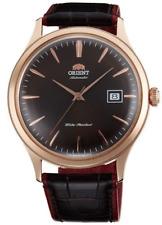 reloj hombre automático Orient Bambino FAC08001T  oro rosa cuero automatic men's