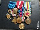 PL) Placard de médailles militaires françaises modernes AFN french medal
