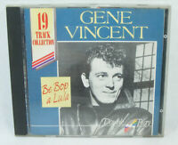 GENE VINCENT Be Bop a Lula 19 Track collection CD Double play