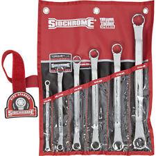 Sidchrome 6 Piece Ring Spanner Set AF Combination Imperial SCMT21412 RRP $135