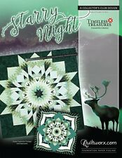 Starry Night new for 2019 Paper Piecing Pattern by Judy Niemeyer