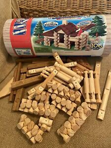 Magnalogs Magnetic Building Toy Made With Real Wood Construction Toys R Us