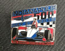 2018 Indianapolis 500 ~ Indy 500 ~ IndyCar ~ Lapel Pin