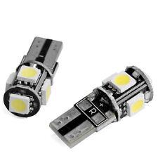 2 X White LED W5W T10 6000K Error Free Canbus