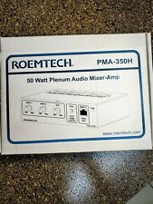 New ROEMTECH 50 Watt Plenum Audio Mixer-Amplifier PMA-350H