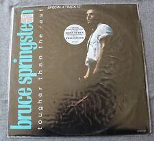 Bruce Springsteen, tougher than the rest, Maxi Vinyl  pochette poster Neuf