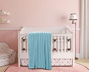 VERSATILE TODDLER / CRIB THROW BED BLANKET CHILDREN COZY LIGHT WEIGHT SUPER WARM
