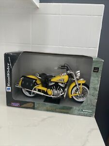 Indian Motorcycle Yellow 1:6 Scale NEW OPEN BOX