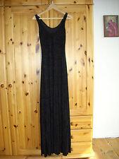 Black Milk Burned Velvet Maxi Dress, Samtkleid, schwarz, Größe M