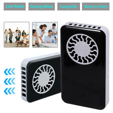 Portable Mini Fan USB Rechargeable Handheld Air Conditioner Summer Pocket Cooler