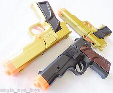 3x Toy Guns MEGA Set! Military Detective 3x 9MM Pistol Cap Guns Set BGG