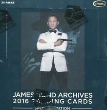 JAMES BOND 007 ARCHIVES 2016 SPECTRE EDITION SEALED TRADING CARD BOX