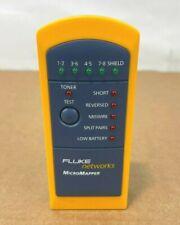 Fluke Networks Mt 8200 49a Micromapper Network Testing Device