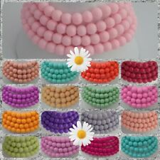 ❤ Glass Beads ❤ Panacolour & Painted Beads ~ Summery Colours ❤ 6mm~8mm~10mm ❤