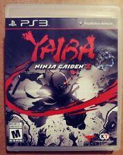 Yaiba Ninja Gaiden Z- PS3- complete w/ comic