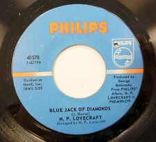 H.P. LOVECRAFT 45 Blue Jack of Diamonds / Keeper of the Keys PHILIPS Psych #717