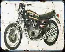 Benelli 750 Sei A4 Photo Print Motorbike Vintage Aged