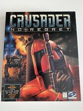 CRUSADER NO REGRET*ROLE PLAYING GAME+Clue-book*Tested And Works*Origin*
