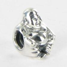 Pandora 790478 Charm Bead Smiling Buddha Sterling Silver New $30