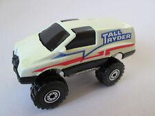 1984 Mattel Hot Wheels Cream color 4x4 Tall Ryder Truck 1:64 Malaysia (Mint)