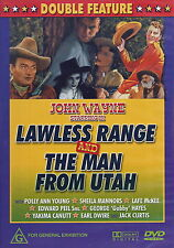 Lawless Range And The Man From Utah - Action / Western - NEW DVD