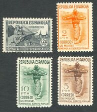 ESPAÑA - AÑO 1938 - EDIFIL 797/800** - HOMENAJE AL EJÉRCITO POPULAR - MNH