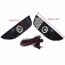 For Mitsubishi Lancer 08-15 Pair LED Car Driving Bumper Fog Lights Lamp Assembly