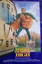THREE O'CLOCK HIGH / ORIG. U.S. ONE-SHEET MOVIE POSTER (CASEY SZIEMASKO)