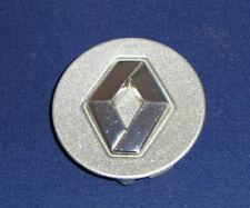 "Renault Alloy Wheels Small Center Cap Silver w/ Chrome Logo 2.25"" 8200 065 482"