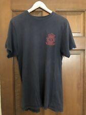 Vans Men's Authentic Logo T Shirt Dark Gray w/CA Authentic 66 Logo In Red