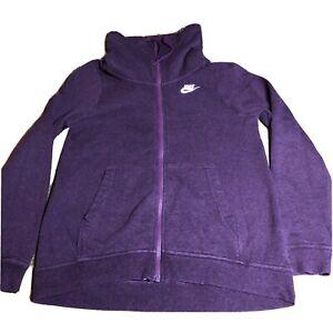 Nike Women's Sportswear Funnel Neck Hoodie 895209-609 Oversized XS Small