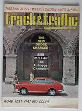 Canada TRACK & TRAFFIC January 1966 Dodge Charger Fiat 850 Nassau ST2003000418